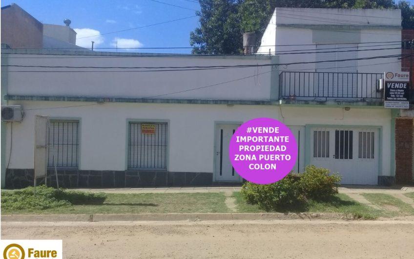 IMPORTANTE PROPIEDAD CON INMEJORABLE UBICACIÓN EN ZONA PORTUARIA COLON E. R
